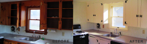 Interior House Painting - Kitchen