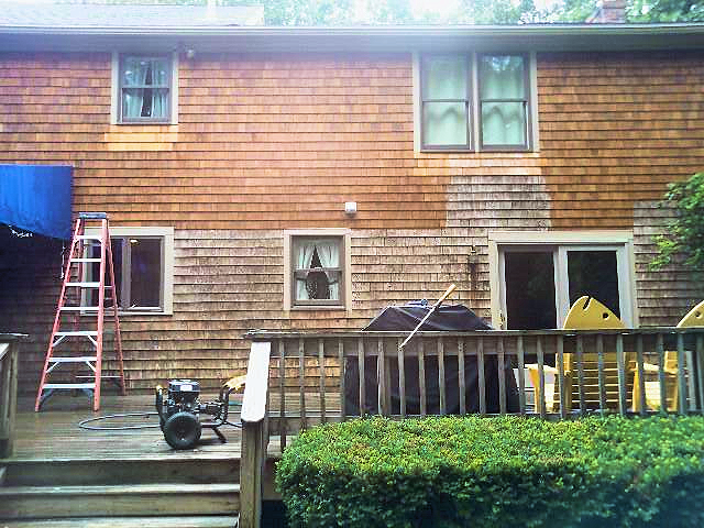 House Power Washing on Cape Cod